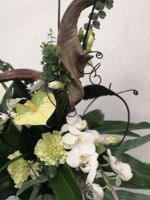 florales Werkstück