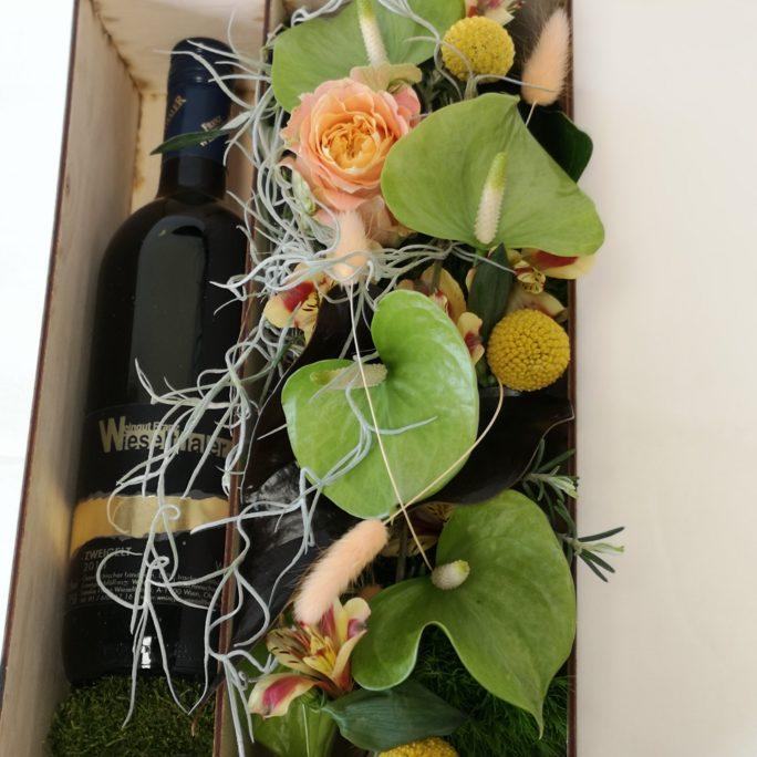 Wein&Blumenbox